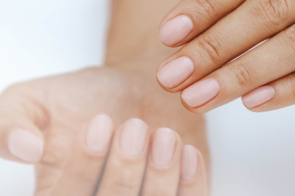 Natural nails, gel polish. Perfect clean manicure